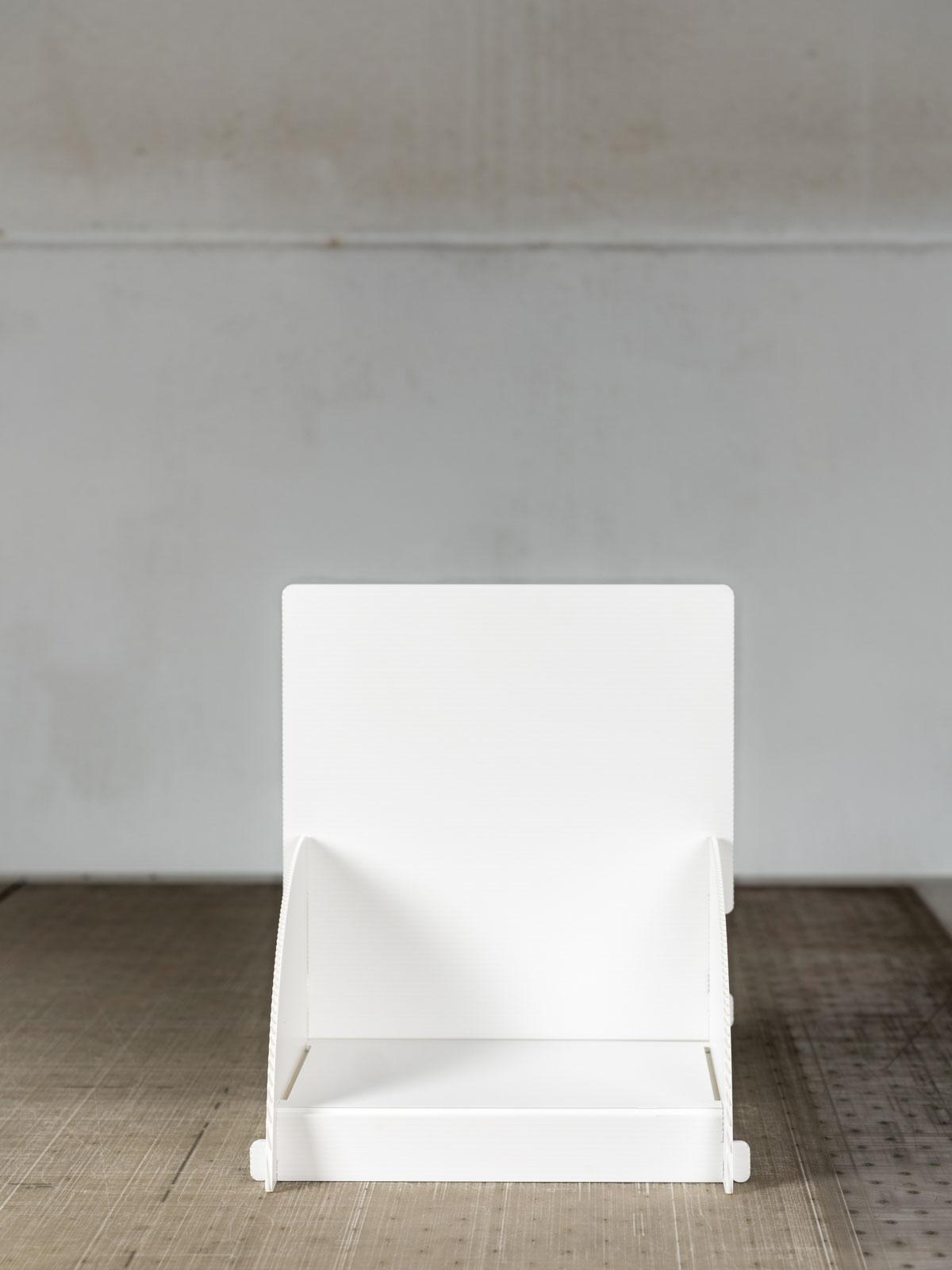 Espositore da tavolo in plastica
